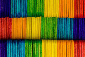 Colorful wood ice-cream stick with copy-space for text — Foto de Stock