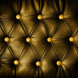 Abstract Square golden Leather against dots background — Stock Photo #42118345