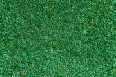 Top view grass fake texture background — Stock Photo