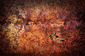 Metal grunge rusty iron background — Stockfoto