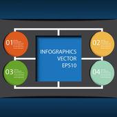 现代设计模板可以用于图表.vector e — 图库矢量图片