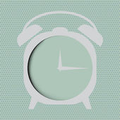 Clock  icon over abstract background. vector illustration EPS10 — Vector de stock