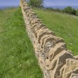 Dry stone wall - Stock Photo