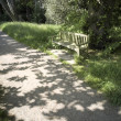 A bench in the countryside — Stock Photo #12059553