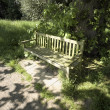 A bench in the countryside — Stock Photo #12059565