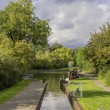 Canal lock — Stock Photo #14147703