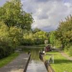 Canal lock — Stock Photo