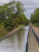 Canal aqueduct — Stock Photo