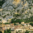 Moustiers ste marie — Stock Photo