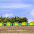Royalty-Free Stock Photo: Beach huts