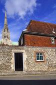 Приходская церковь — Стоковое фото