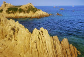 Cliffs on the coast — 图库照片