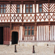 Half timbered house in Rouen, Normandy France — Stock Photo