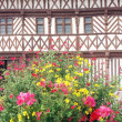 Half timbered house in Rouen, Normandy France - Foto de Stock