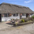 Stock Photo: Thatched pub in West Sussex