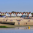 Holiday resort of Littlehampton in West Sussex — Stock Photo