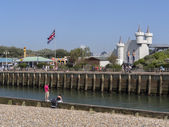 The harbour of Littlehampton — Stock Photo