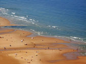 Beach at summer sunny day — Stock Photo