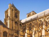 Bourges cathedral in France — Foto Stock