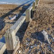 Shingle beach — Stock Photo