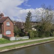 Houses by canal — Stock Photo #26686243