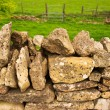 Stock Photo: Dry stone wall