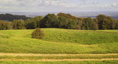 Countryside hills — Stock Photo