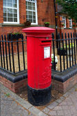 A victorian postbox — Stock Photo