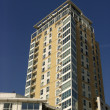 Hi-rise apartment building — Stock Photo #27540959
