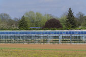 Open air greenhouses in the countryside — Stock Photo