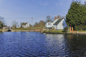 Stratford canal — Stock Photo
