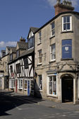 İngiltere'de sokak eski evleri — Stok fotoğraf