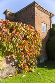 Old walled elizabethan garden — Stock Photo