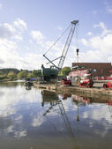 Kanalen i birmingham — Stockfoto