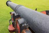 Un vecchio cannone — Foto Stock