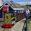 Narrow gauge engine — Stock Photo #47064357