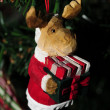 Moose christmas ornament - Stock Photo