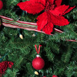 Red holiday ornaments — Stock Photo #15387531
