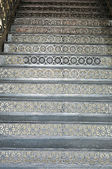 Dekorativa stål trappa — Stockfoto