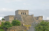 Ruins from ancient mayan civilization in Mexico — Stock Photo