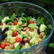 Stock Photo: Mixed green salad