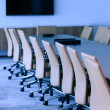 Executive boardroom in an office building — Stock Photo