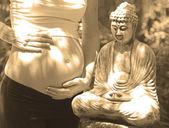Zen ciąży — Zdjęcie stockowe