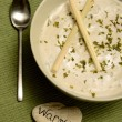 Creamy lemongrass soup for warmth — Stock Photo