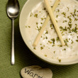 Stock Photo: Creamy lemongrass soup for warmth