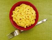 Creamy and homemade macaroni and cheese — Stock Photo