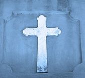 Cross symbolizing christianity — Stock Photo