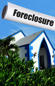 Foreclosure on home — Stock Photo