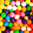 Gumball or bubblegum background — Stock Photo