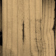 Grunge banner with wood texture — Stock Photo